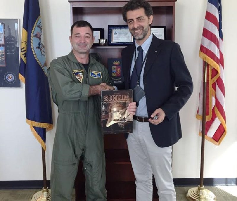 Sac: visita istituzionale dell'ad Torrisi nella base Usa di Sigonella