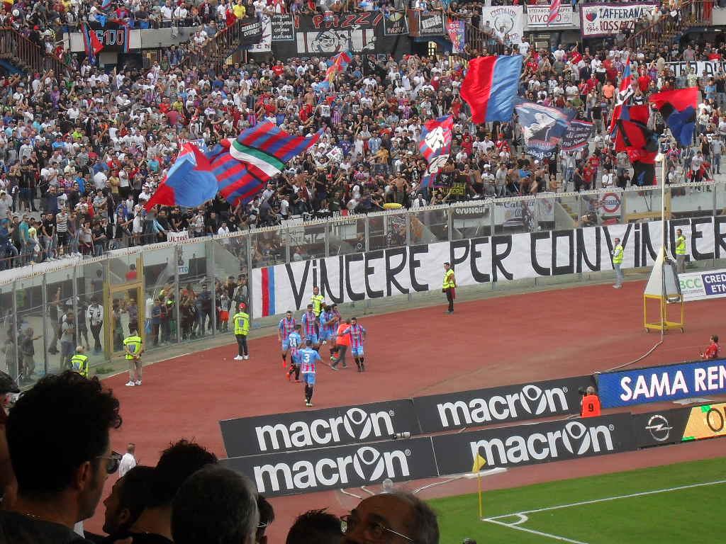 Catania, Di Grazia castiga il Messina: 3-1, riassaporata la vittoria