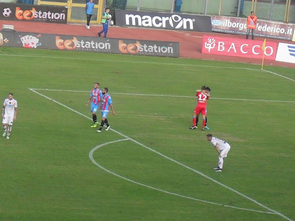 Catania, sconfitta la capolista e rilancio rossoazzurro