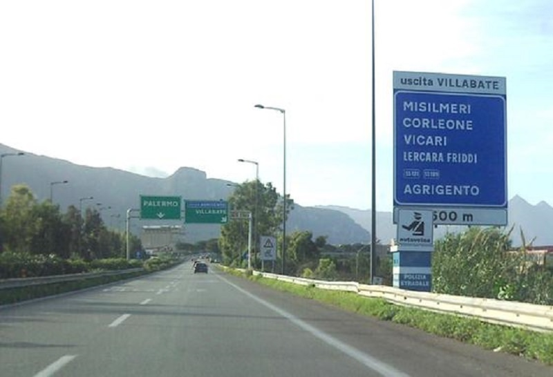Prevista la chiusura notturna della A19 Catania-Palermo