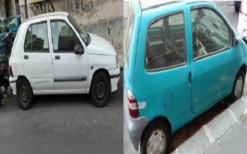 Auto abbandonate in via Enna, la rabbia e le dichiarazioni dei residenti