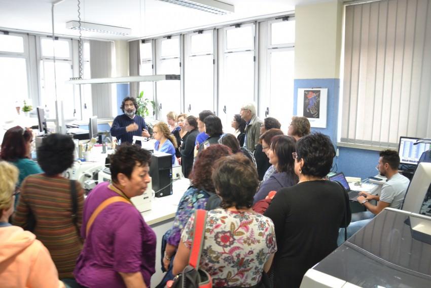 Catania: radiologi e biologi israeliani in visita all'ospedale Cannizzaro