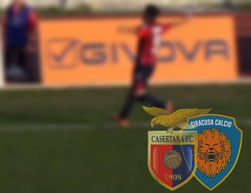 Siracusa, si ritorna con i piedi per terra: 2-0 per la Casertana