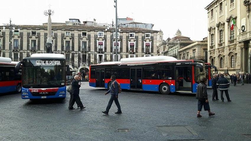 """Catania, stipendi dimezzati all'Amt. L'azienda: """"Le somme erogate dipendono dalla partecipazione ad alcune gare d'appalto"""""""