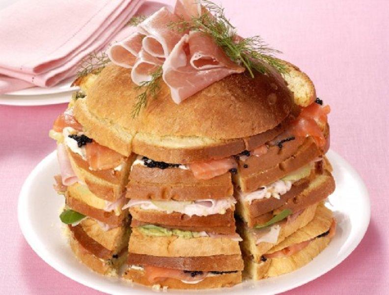 Panettone salato: piatto sfizioso ideale per ogni evento