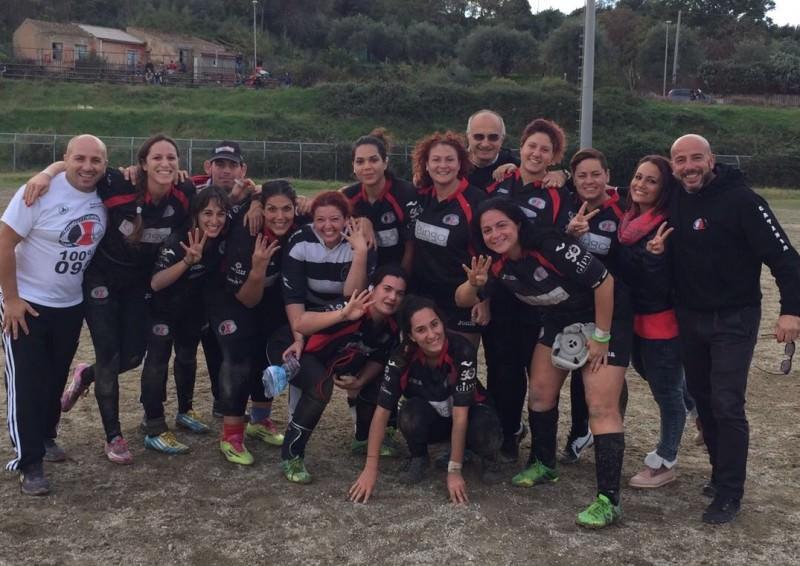 Trionfo delle Ladies dell'Amatori Catania a Messina