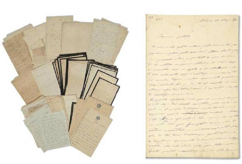 Verga inedito a Parigi: lettere e manoscritto originale della Cavalleria Rusticana