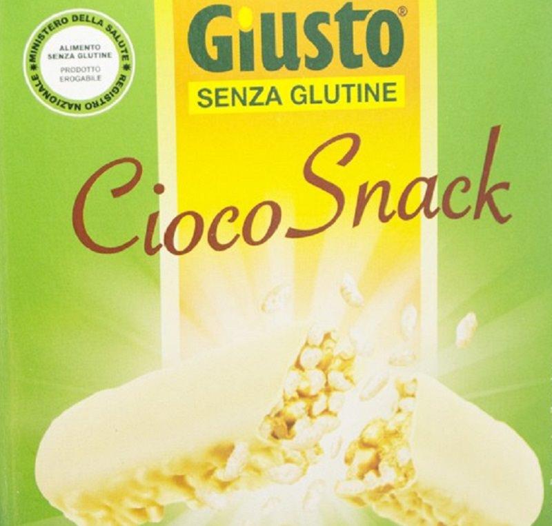 """Ritirate dal mercato le barrette """"Cioco Snack"""", rischio per allergici e intolleranti"""