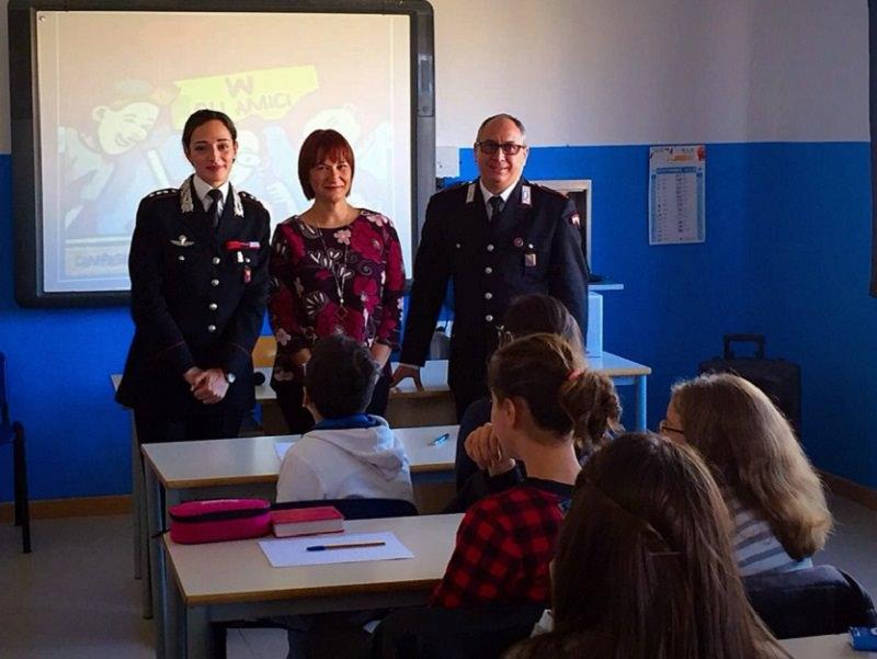 Augusta, Carabinieri nelle scuole per conferenze sulla legalità