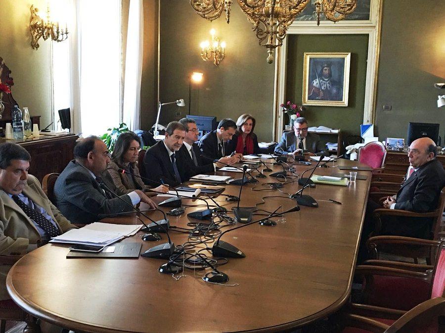Commissione regionale Antimafia incontra il presidente della Corte dei Conti di Sicilia