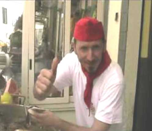 Il cuoco Nino 'u Ballerino racconta lo Street Food