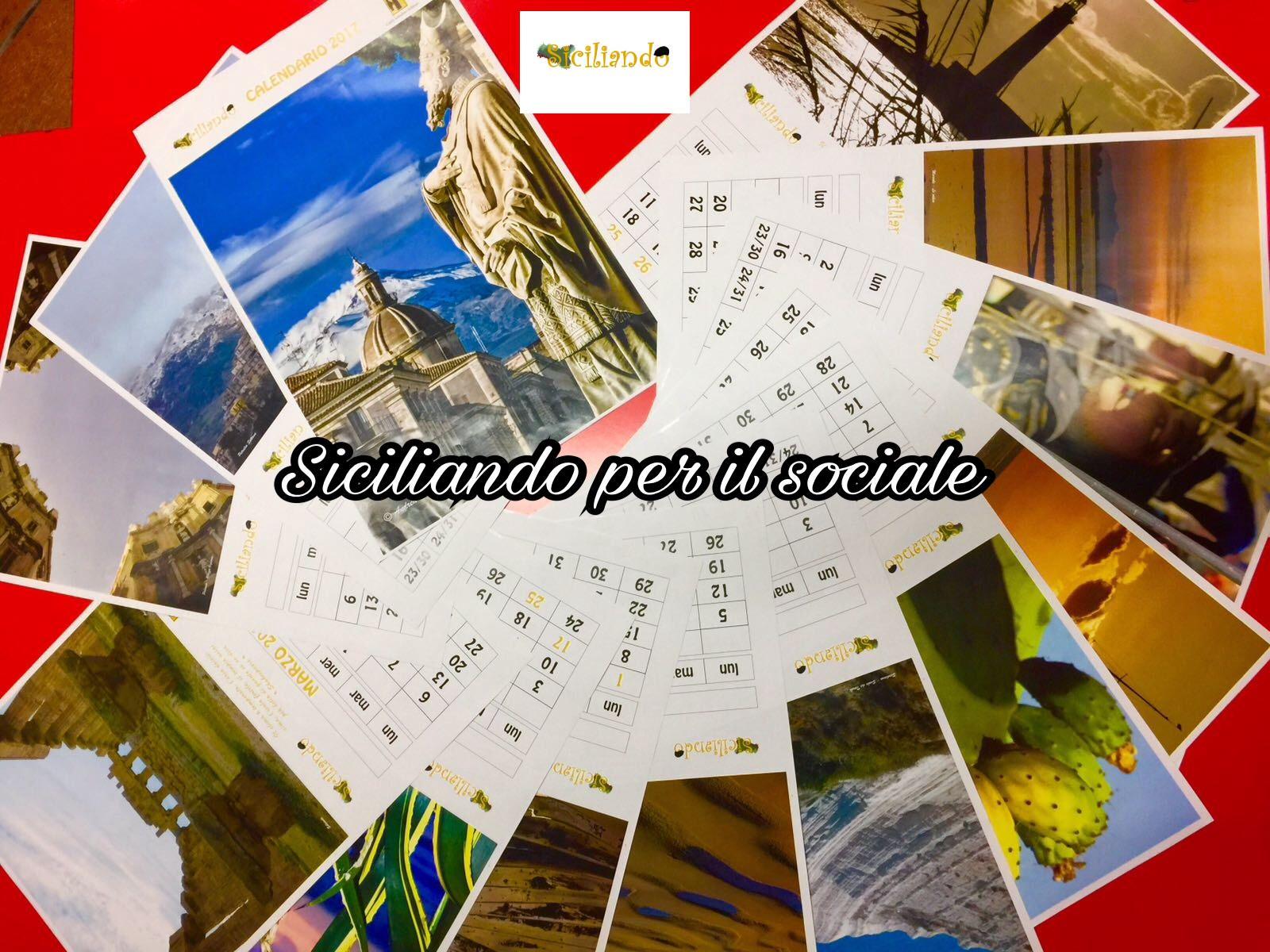 Creato il primo calendario Siciliando Style