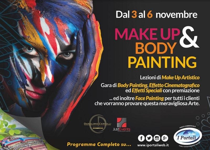 """Make Up e Body Painting: dal 3 al 6 novembre scoprite un'arte meravigliosa a """"I Portali"""""""