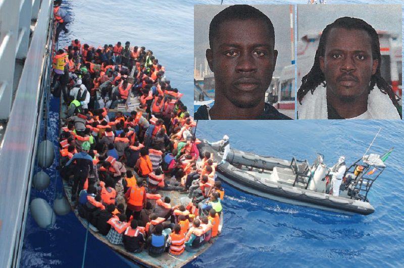 Fermati 2 scafisti per lo sbarco di 643 migranti al porto di Catania