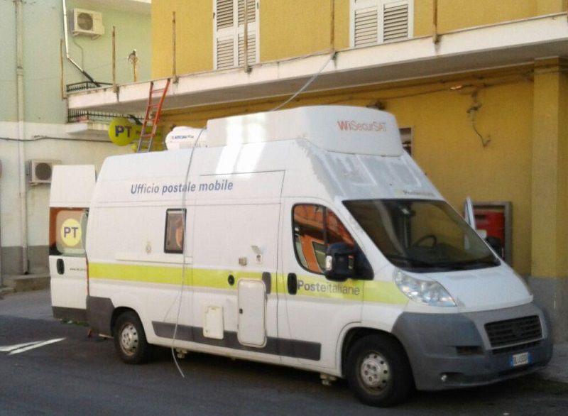 Da domani attiva l'unita mobile delle poste a Villasmundo