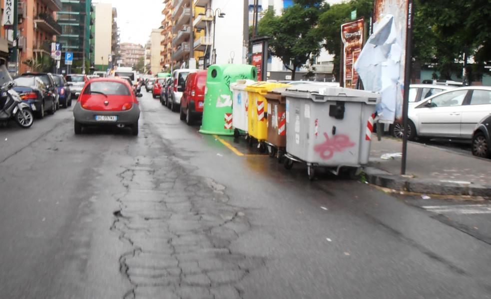 Il maltempo crea disagi, situazione critica a Catania