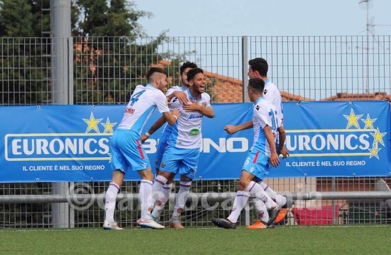 """Berretti, il Catania con un piede in semifinale: sbancato il """"Degli Ulivi"""" di Andria"""