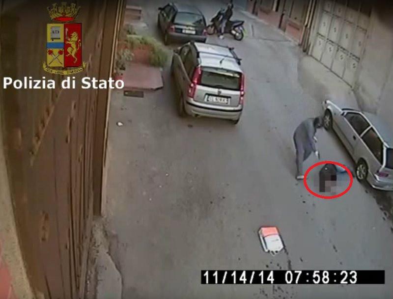 Le IMMAGINI choc dell'esecuzione di Maurizio Maccarrone. VIDEO
