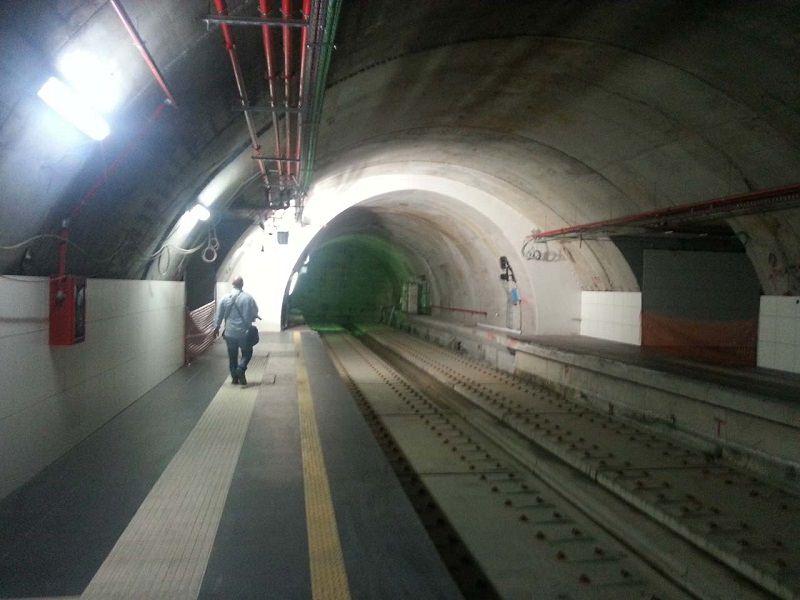 """Allagata la nuova metropolitana in Piazza Stesicoro, """"è il nuovo Canal Grande"""""""