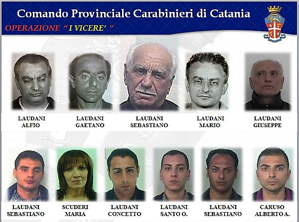 """Inchiesta """"I Viceré"""": torna in libertà Alberto Caruso, esponente del clan mafioso della famiglia Laudani"""
