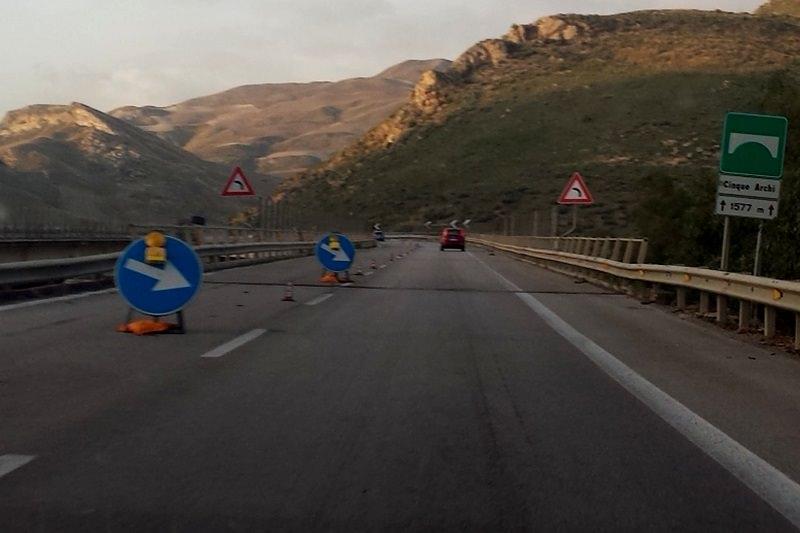 Autostrada Palermo-Catania, chiusura per lavori prolungata fino a domenica 28 ottobre