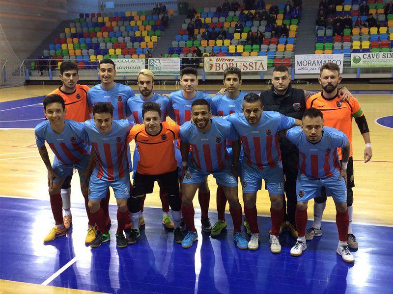 Crolla il Catania: a Policoro finisce 12-1
