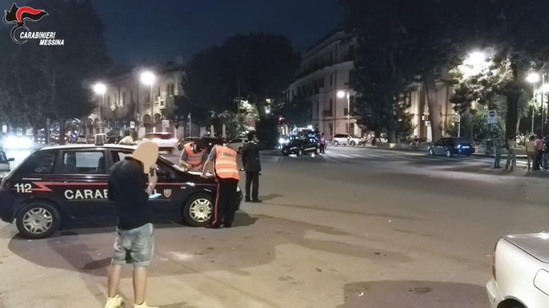 Messina: controlli, denunce e sequestri