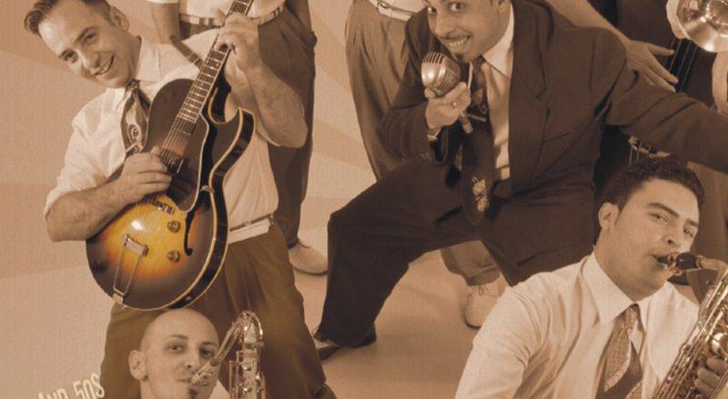 Lo swing è servito, Jumpin 'Up in concerto a Catania