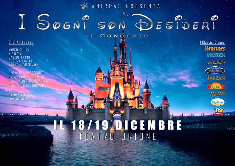 """""""I sogni son desideri"""": la magia di Disney a sostegno delle famiglie bisognose"""