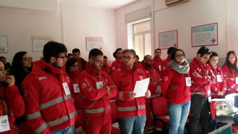 Assemblea regionale dei giovani della Croce Rossa ad Enna
