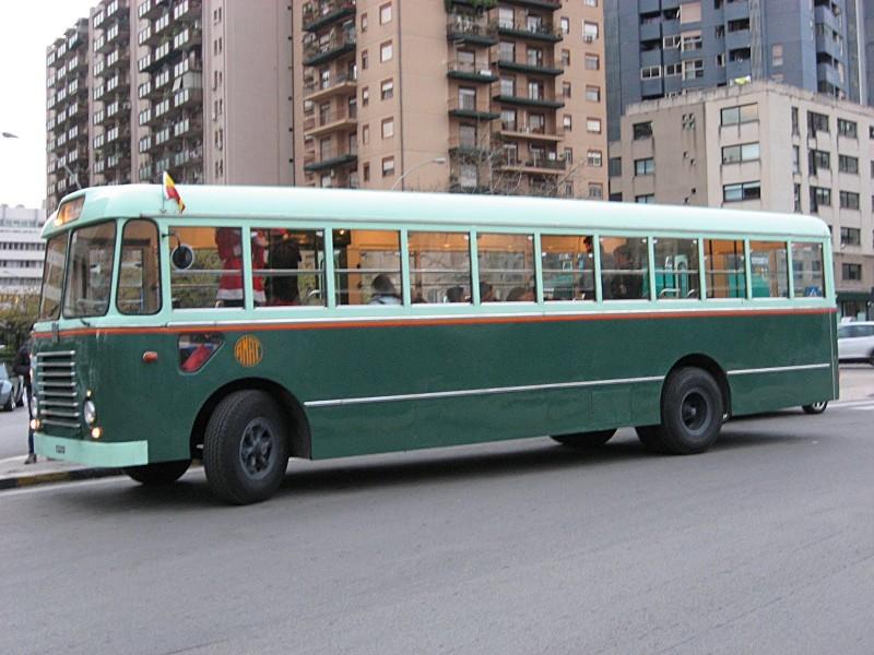 A Palermo autobus storico gratuito con befana a bordo