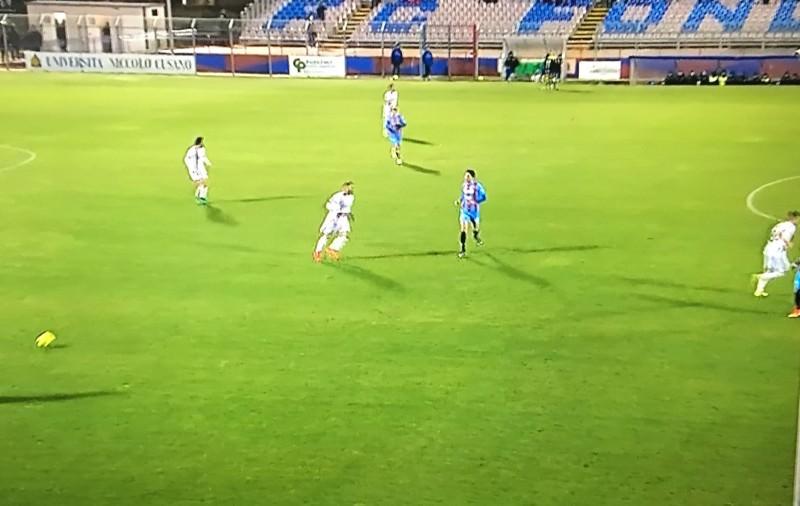 Fondi-Catania 1-1: Mazzarani fondamentale, bene i nuovi