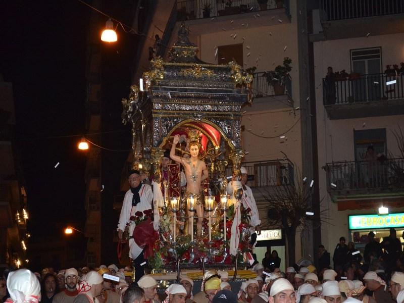 Festeggiamenti di San Sebastiano ad Acireale rinviati di una settimana