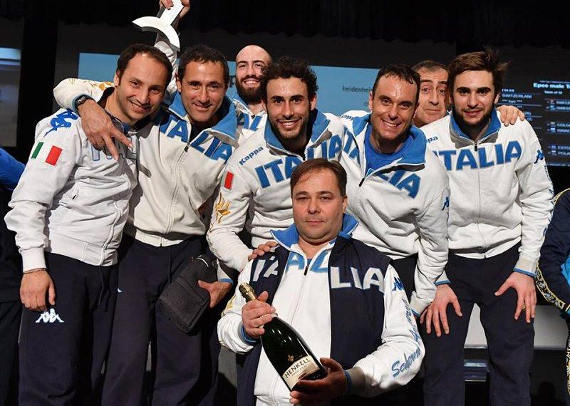 Coppa del Mondo: oro nella gara a squadre per Enrico Garozzo e Paolo Pizzo