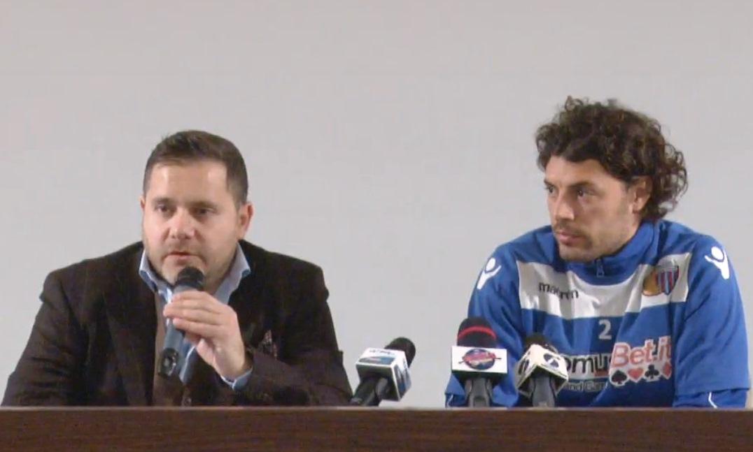 "Catania, Argurio presenta Baldanzeddu: ""Mix di duttilità ed esperienza"""