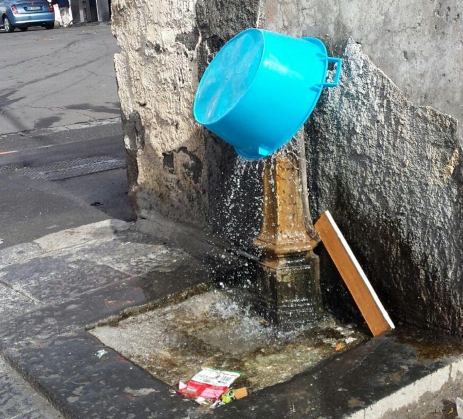 """Buceti: """"Fontanelle danneggiate e mal funzionanti, è colpa dei vandali"""""""