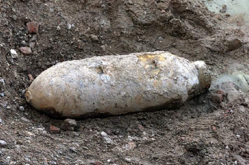 """Scoperta """"esplosiva"""" a Paternò: trovati quattro ordigni inglesi risalenti alla Seconda Guerra Mondiale"""