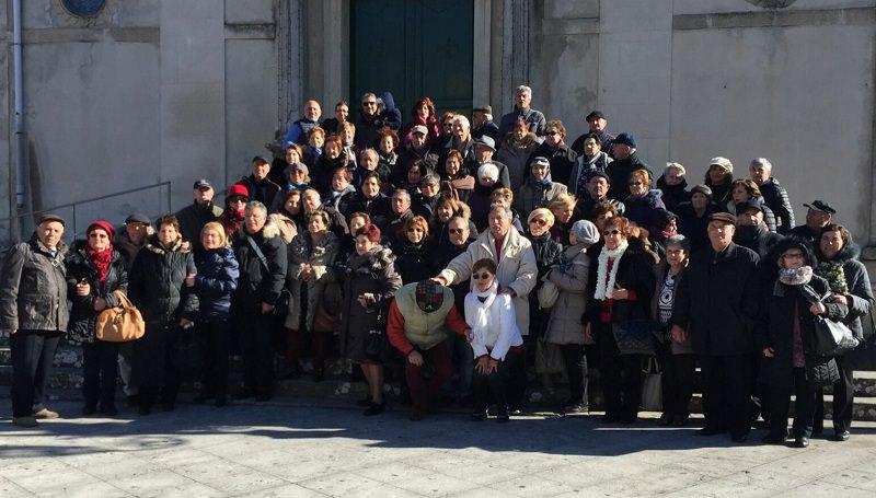 Pedara: anziani in gita a Montalbano Elicona