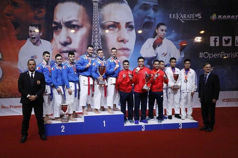 Giuseppe Panagia argento ai campionati europei di Parigi