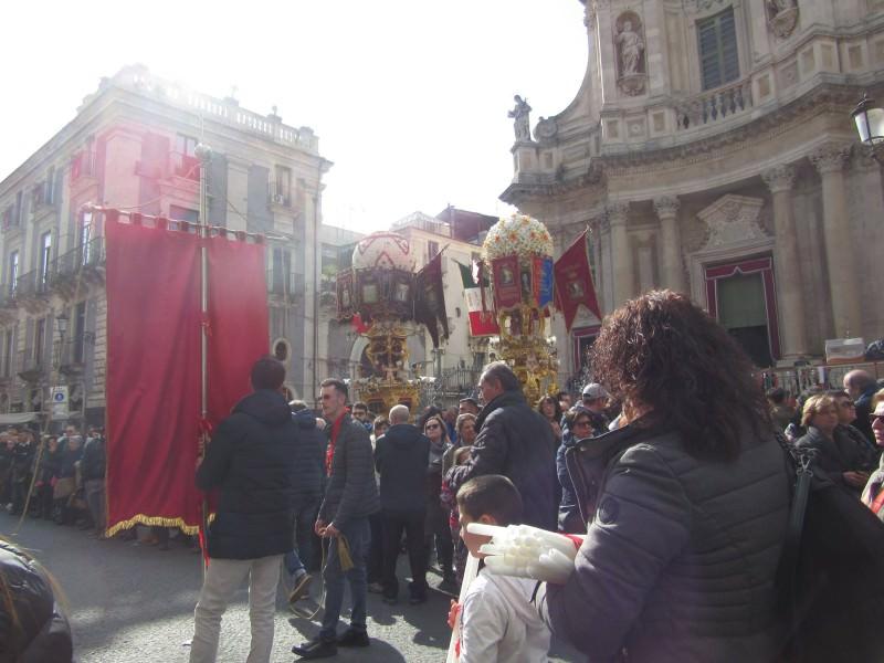 Sant'Agata: tra il sacro e il profano non mancano le polemiche