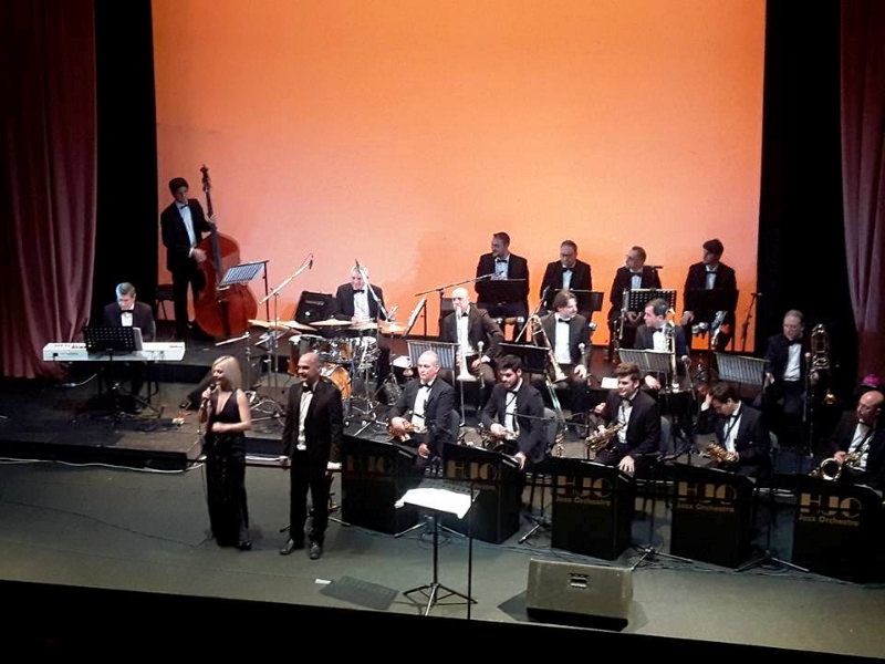 Al Sangiorgi nuovo sold out per l'HJO Jazz Orchestra