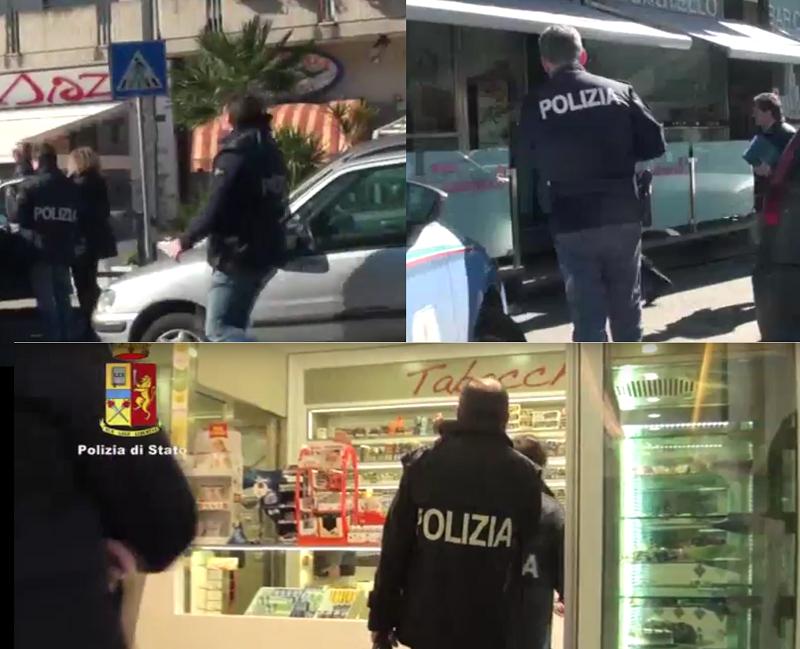 """L'ombra del clan """"Cappello"""" sul """"Bar Castello 2"""" e sul """"Caffè Diaz"""", sequestrati beni per 3,5 mln. IL VIDEO"""