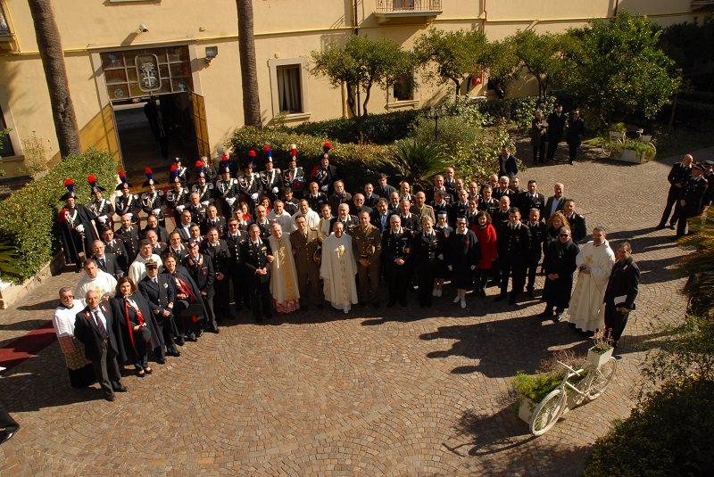 """Messina, cerimonia di consacrazione della Cappella """"Virgo Fidelis"""""""