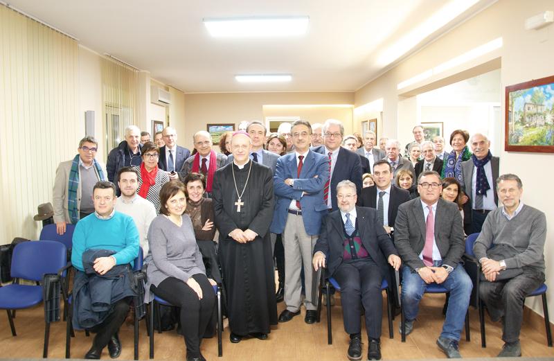 Lectio magistralis del vescovo Russotto all'Ordine dei Medici di Caltanissetta