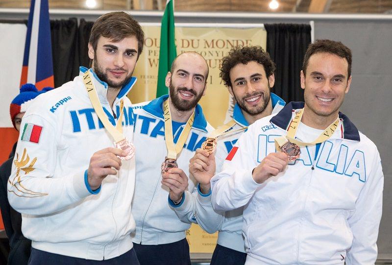 Garozzo e Pizzo conquistano la medaglia di bronzo a Vancouver