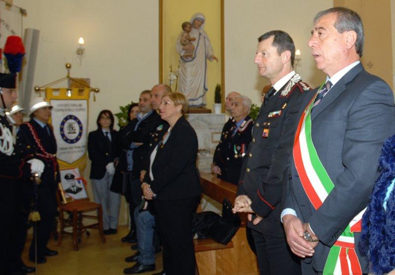Commemorazione del carabiniere Arena ucciso da due latitanti camorristi