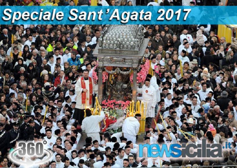 """Il """"giro esterno"""" di Sant'Agata. Segui con noi tutte le tappe con FOTO e VIDEO a 360°"""