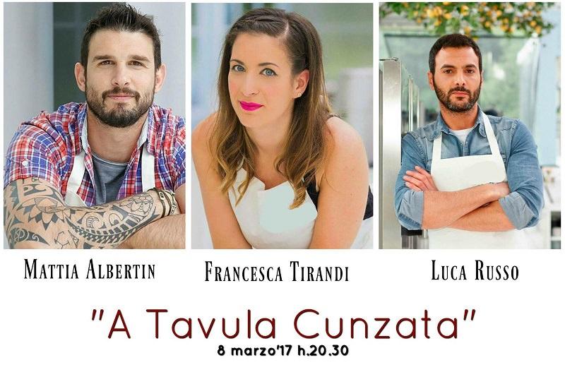 """A Tavula cunzata"": i sapori antichi approdano a Valverde"