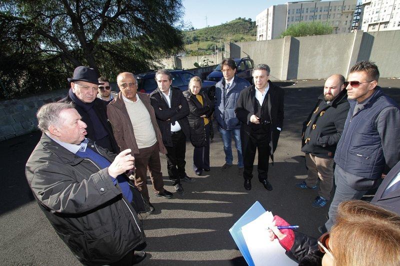 Commissione viabilità e assessore Bosco: meeting per passaggio pedonale tra ospedale Garibaldi e Nesima