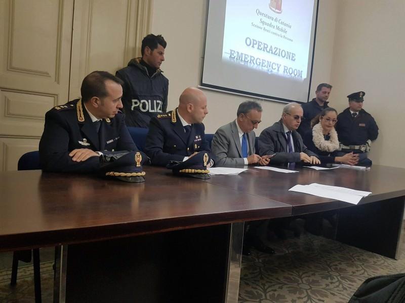 """Calci e pugni al Vittorio Emanuele: i dettagli dell'operazione """"Emergency Room"""""""